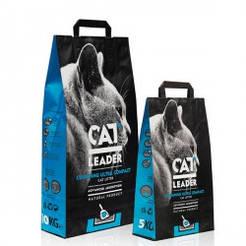 Кэт Лидер (CAT LEADER) ультра-комкующийся наполнитель в кошачий туалет 5кг