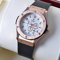 Кварцевые мужские наручные часы Hublot Gold