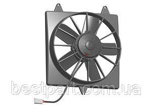 Вентилятор Spal 24V, толкающий, VA04-BP70/LL-37S