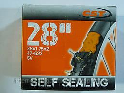 Велокамера CST 28x1.75/2.0 GEL S