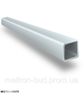 Труба алюминиевая профильная АД31 20х10х1 мм