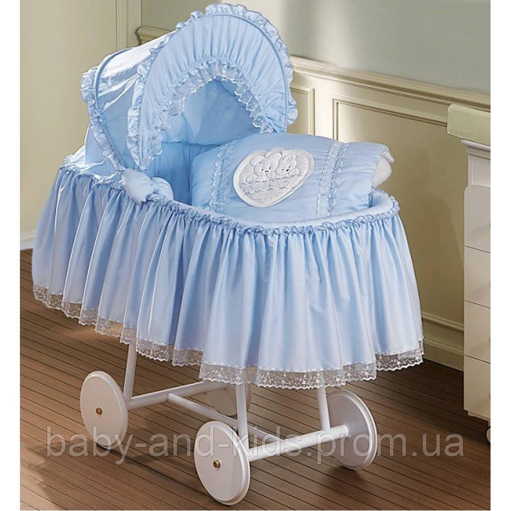 Кроватка-люлька Italbaby Aurora MonCoeur 340.0009-2 - Baby&Kids (ФОП Горбецька В.О.) в Киеве