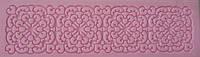 """Текстурный силиконовый коврик для мастики и айсинга""""ажур""""(код 04175)"""