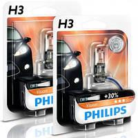 Philips Premium +30% / тип H3 / 1шт.