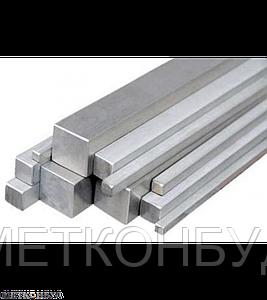 Квадрат алюминиевый АД31 102х107 мм