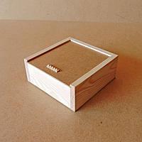 Пенал деревянный Гиацинт 20х20х8см