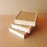 Пенал деревянный Гиацинт 25х30х8см
