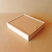 Пенал деревянный Гиацинт 35х40х8см