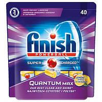 Таблетки для посудомоечной машины Finish Quantum Лимон, 40 шт.