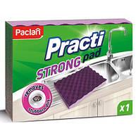 Губка для мытья посуды Paclan Practi Strong, 1 шт.