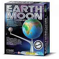 Детская лаборатория. Макет Земли с Луной 4M