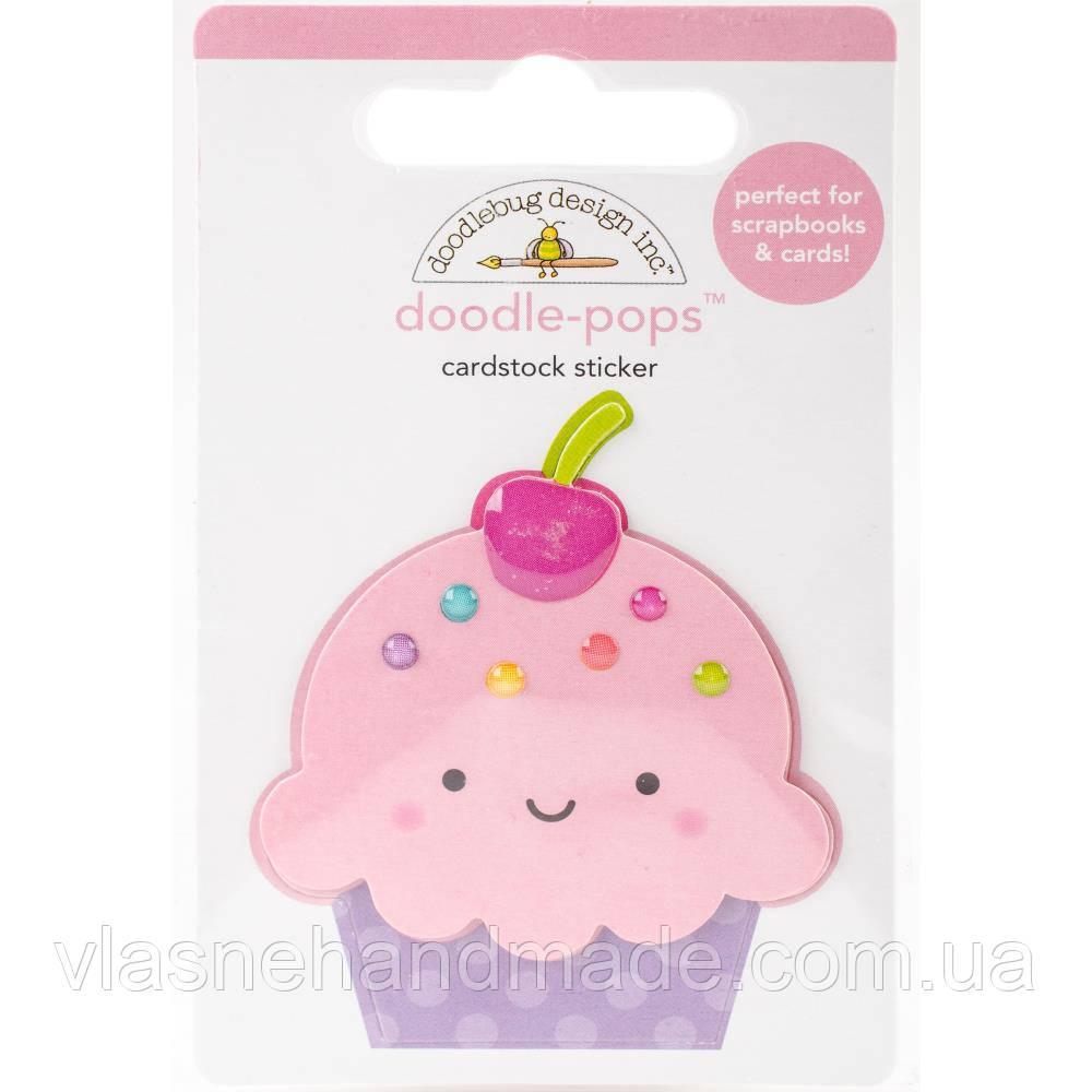 Наклейки 3D - Fairy Tales Cute Cake - Doodlebug