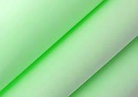 Шелковый фоамиран, СВЕТЛО-САЛАТОВЫЙ, 0,6 мм, 23х23 см, Китай