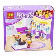 """Конструктор для девочек BELA """"Friends"""" 10153"""