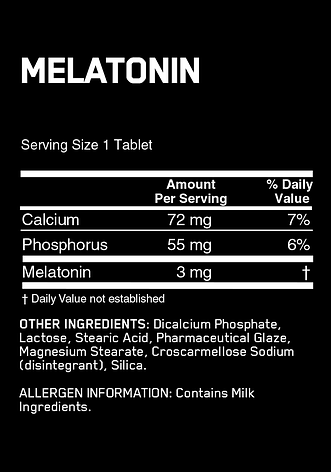 Optimum Nutrition Melatonin 100 tabs, фото 2