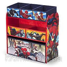 """Органайзер - ящик для іграшок """"Людина - Павук Disney"""" Delta Children"""