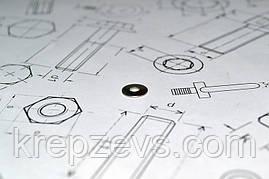 Шайба Ф16 ГОСТ 6958-78 из стали А2