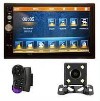"Автомагнитола 2Din Pioneer 7023CRB 7"" Экран, Bluetooth, Читает ВИДЕО+ Пульт на руль+Рамка+Шахта+КАМЕРА!, фото 1"