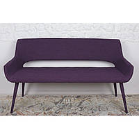 Barcelona (Барселона) кресло-банкетка текстиль баклажан, фото 1