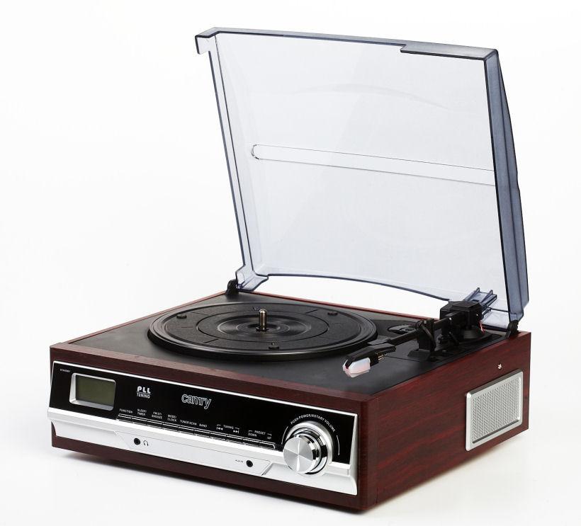 Проигрыватели виниловых дисков Camry CR 1113