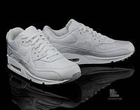 Женские кроссовки Nike Air Max 90 Premium Edition белые, фото 1