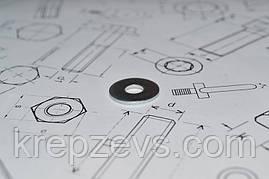 Шайба Ф27 ГОСТ 6958-78 из стали А2