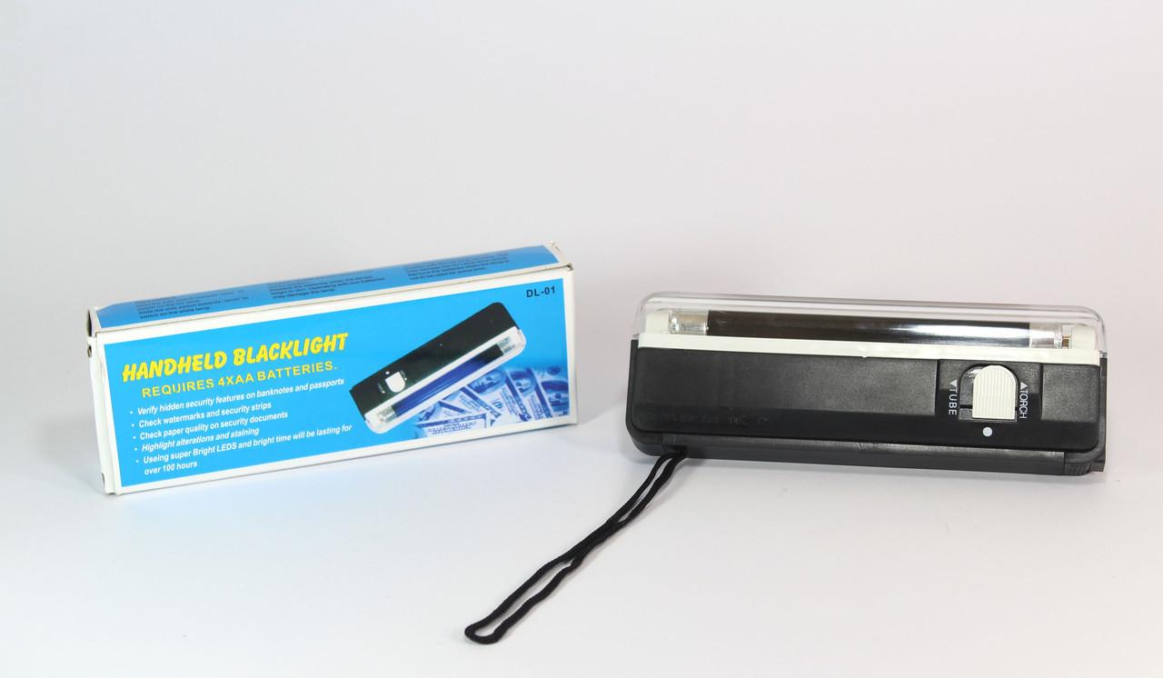 Ультрофиолетовая лампа, детектор валют DL01