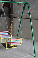 Качели детские, лодочка на цепях., фото 8