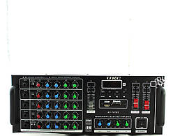 Усилитель звука UKC AMP 747+BT +USB порт / Слот для карт памяти SD/MMC / Микрофонные входа