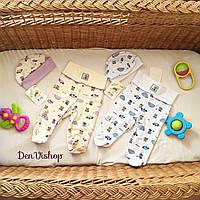 TM Smill Набор для новорожденого 2 шапочки + 2 штанишки