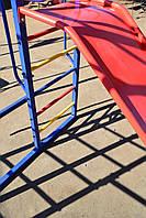 Комплекс спортивно-игровой с горкой и качелями, уличный., фото 4