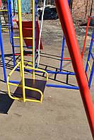 Комплекс спортивно-игровой с горкой и качелями, уличный., фото 5