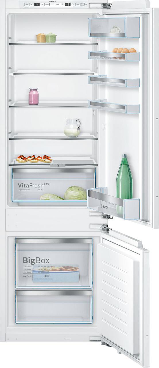 Встраиваемый холодильник с морозильником  Bosch KIS86KF31