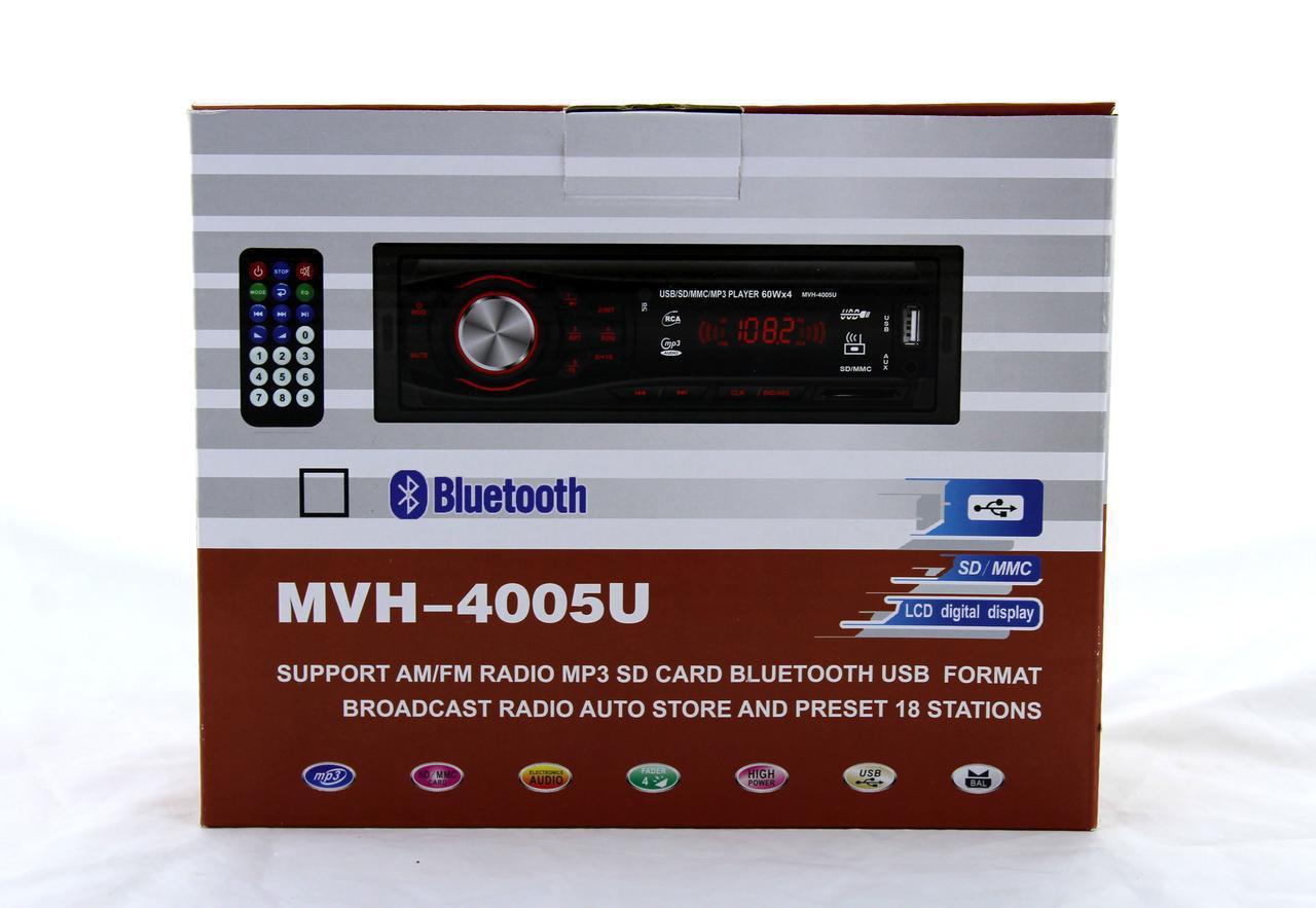 Автомагнитола MVH 4005U 60W MP3 / SD / USB / AUX / FM