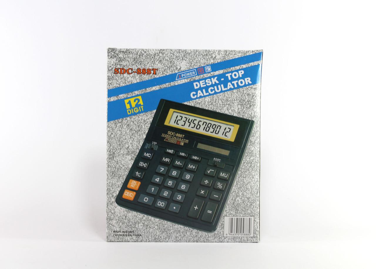 12-разрядный электронный калькулятор SDC-888