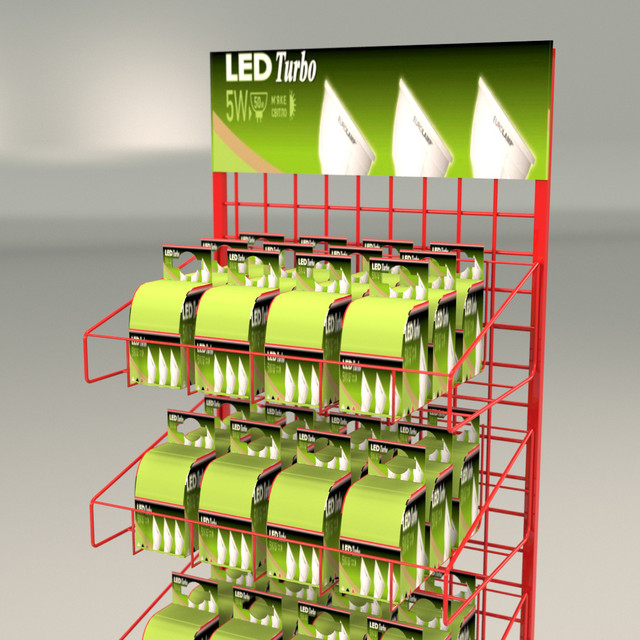 Торговое оборудование стойки для лампочек