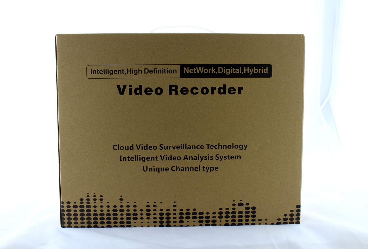 4-канальный видеорегистратор DVR 6604N для IP камер