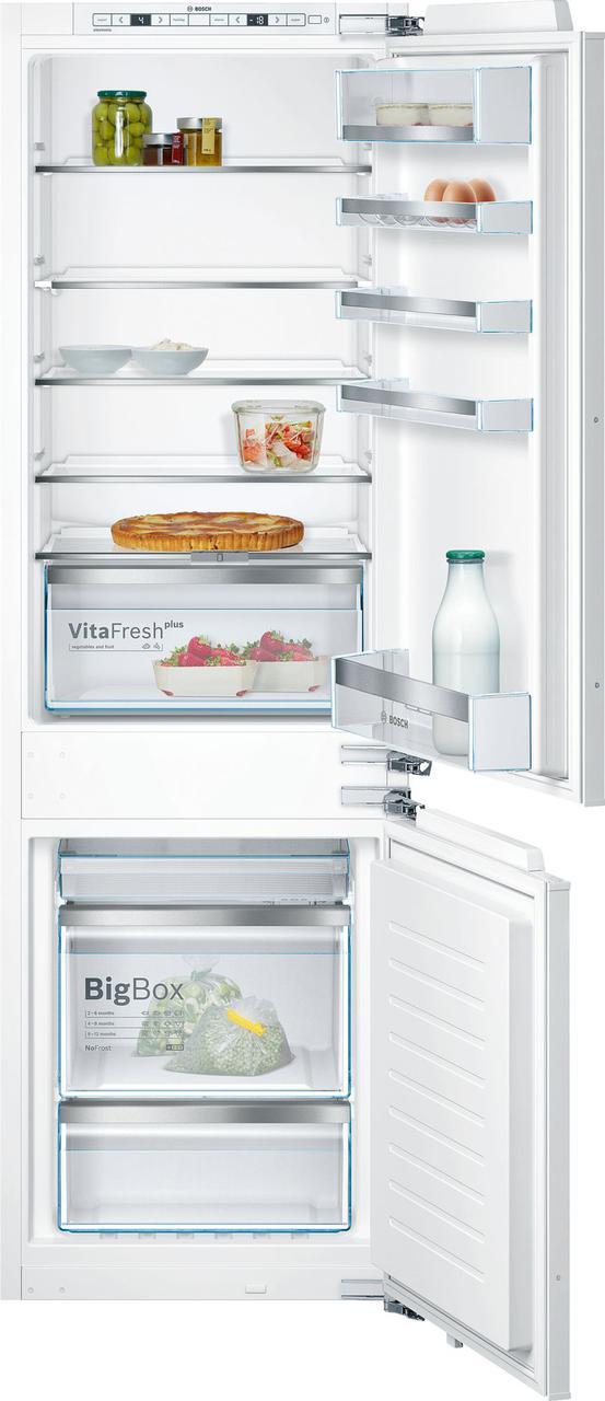 Встраиваемый холодильник с морозильником  Bosch KIN86KF31