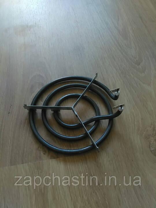 Тен електроплити Saturn, на підставці, 3 витка, 1,0 кВт (Китай)