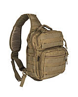 Сумка-рюкзак однолямочная Mii-Tec One Strap Assault Pack SM койот 9л, фото 1