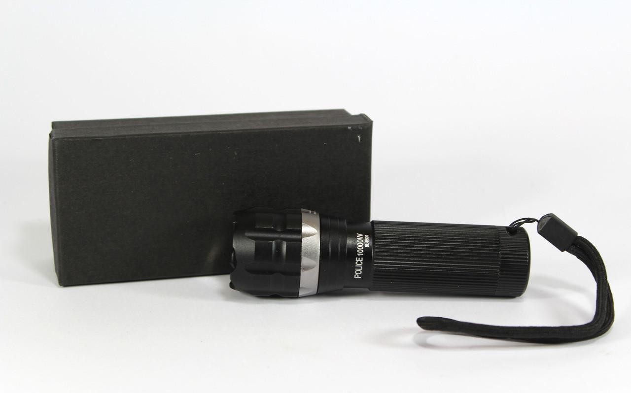Тaктичeский фонарик Bailong PoliceBL-8501 /Мoщный свeтoдиoдный ручнoй фoнaрь