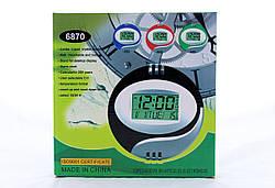 Настольные /Настенные многофункциональныеЭлектронные Часы KK 6870