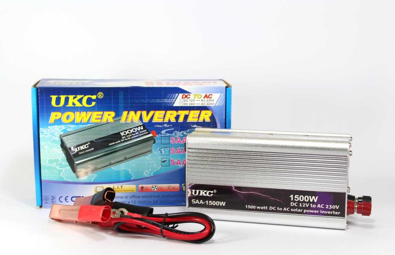 Преобразователь AC/DC 1500W SAA UKC / автомобильный преобразователь напряжения / автомобильный инвертор