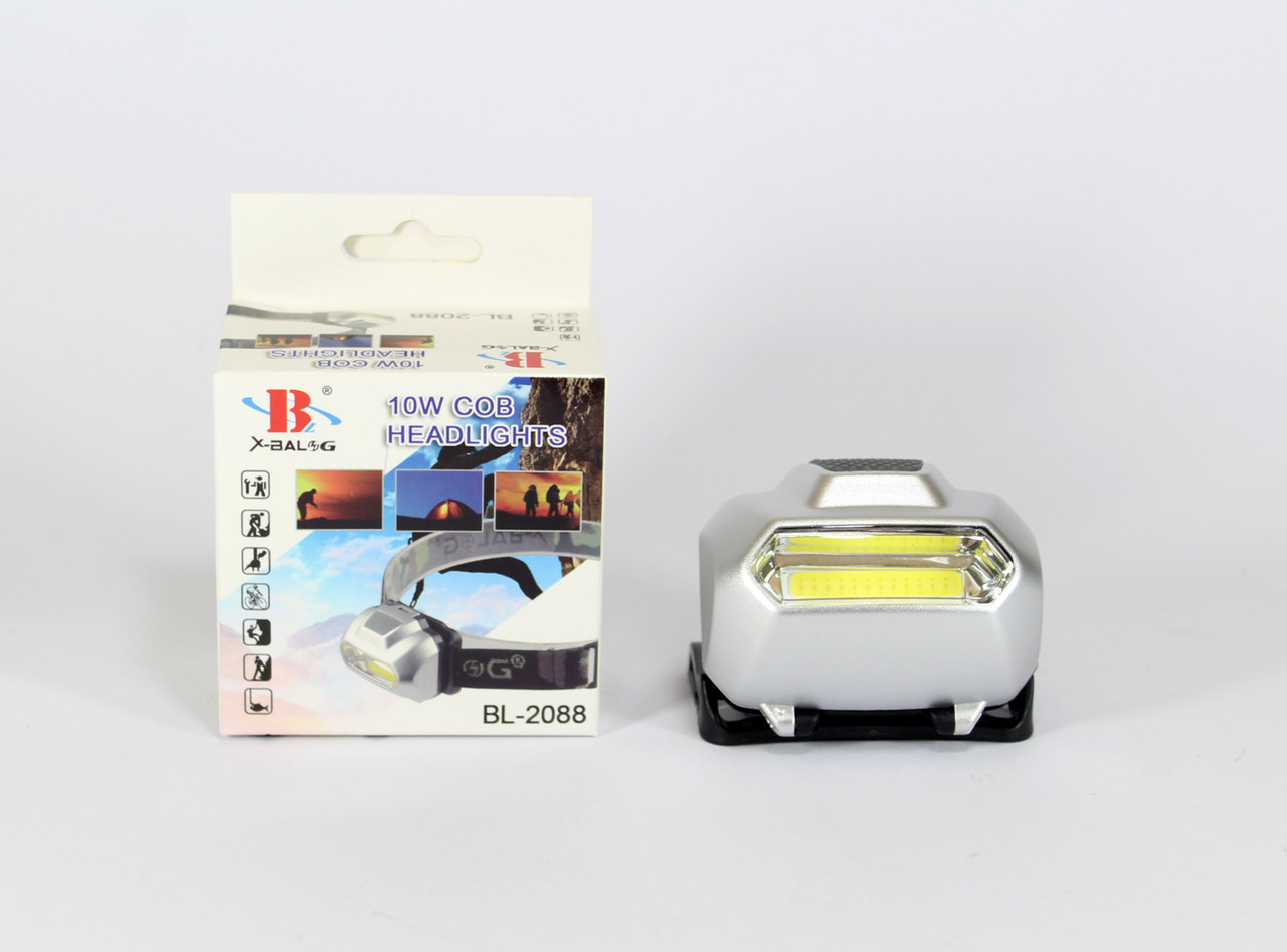 Налобный фонарь BL 2088 COB