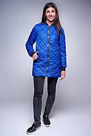 Женская куртка -   бомбер цвета электрик, весна - осень