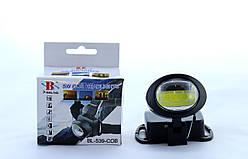 Фонарик светодиодный на лоб BL 539 COB /налобный фонарик LED 5W