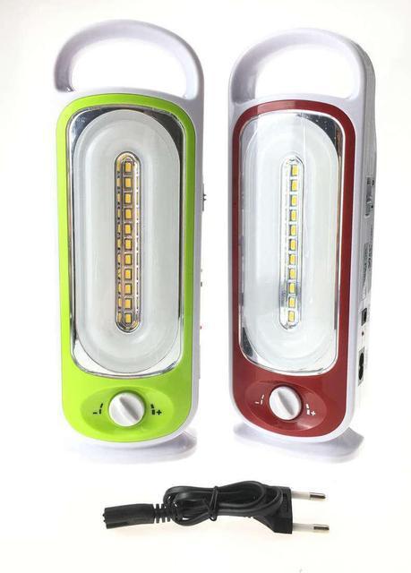 Переносной фонарик YJ 6881U с USB для для зарядки телефона / Кемпинговый фонарь + power bank