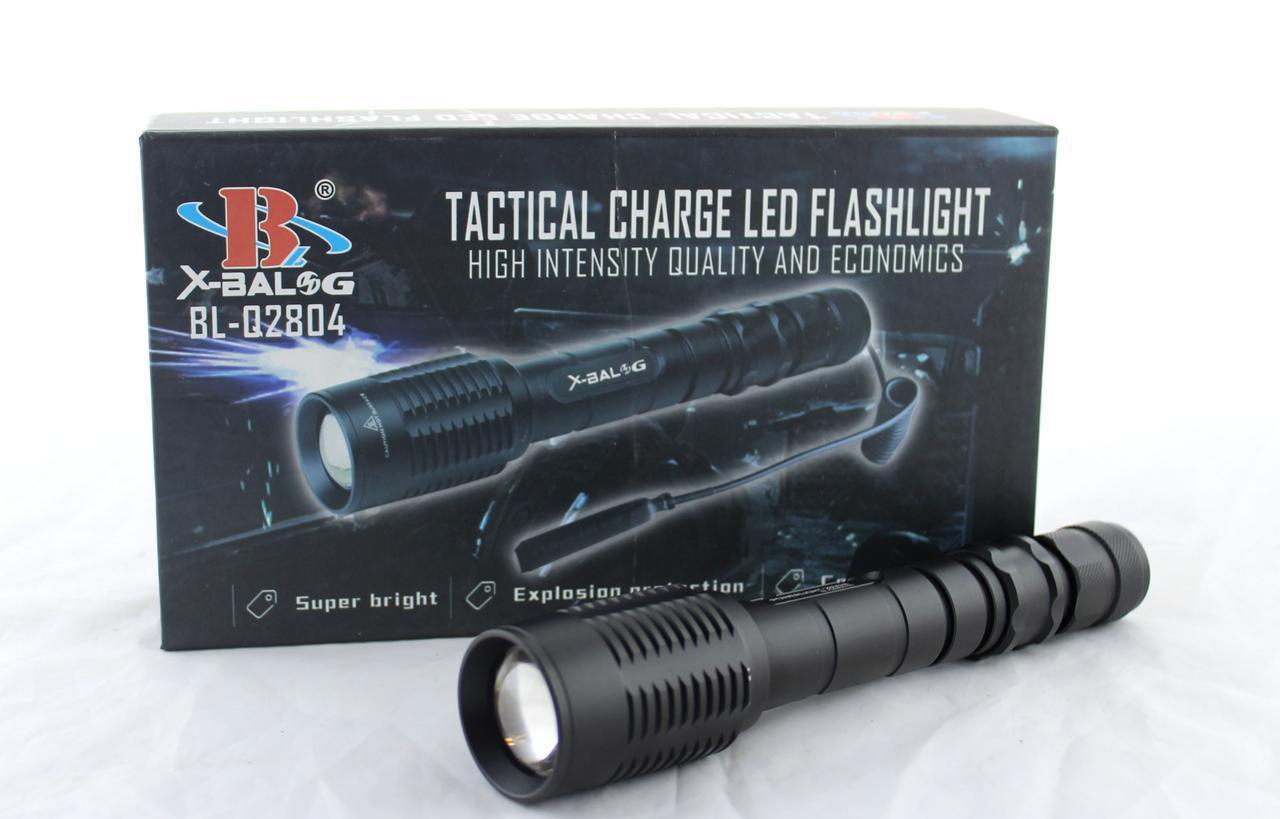 Подствольный светодиодный фонарик  BL Q2804 T6 POLICE  / Ручной аккумуляторный фонарь