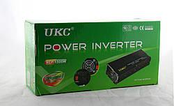 Профессиональный преобразователь / инвертор UKC 12V-220V RCP-1500W