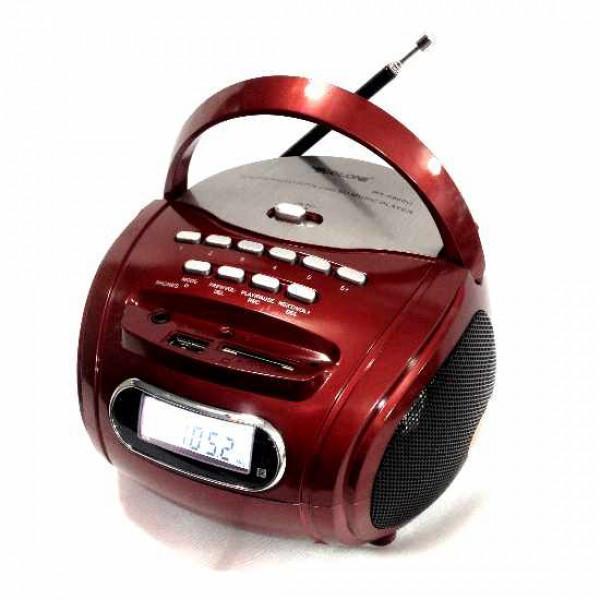 Бумбокс колонка MP3/ USB /радио со встроенным аккумулятором Golon RX 186